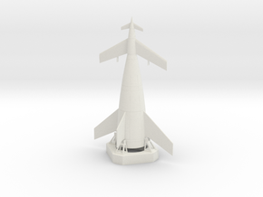 1/700 VON BRAUN SHUTTLE in White Strong & Flexible