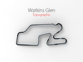 Watkins Glen - Half Size in Full Color Sandstone