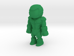 Pilot 3DPrint in Green Strong & Flexible Polished