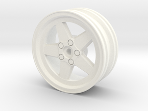 Ronal Race- + Driftrim in White Strong & Flexible Polished