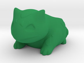 Bulbasaur Planter in Green Strong & Flexible Polished