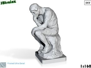 The Thinker (1:160) in Frosted Ultra Detail