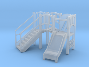 Playground Equipment 01. HO Scale (1:87) in Frosted Ultra Detail