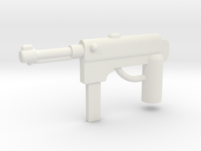 MP40 Minifigure Gun 1.0 in White Strong & Flexible