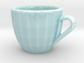 Espresso Cup in Gloss Celadon Green Porcelain