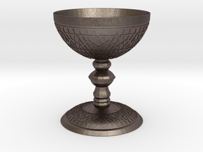 luxurious Cup with Islamic motifs in relief in Stainless Steel