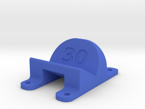 LT210 - 30° Action Cam Mount in Blue Strong & Flexible Polished