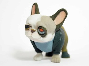 Frenchienator (Terminator Frenchie)  in Full Color Sandstone
