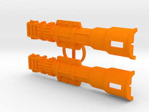 M.A.S.K. Ramp-Up cannon (15 of 15) in Orange Strong & Flexible Polished