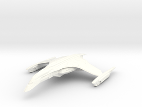 ValWolf Class Destroyer in White Strong & Flexible Polished