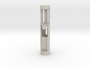 Chassis V4 with chamber star wars lightsaber star  in Sandstone