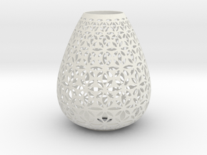 Lampshade Holder in White Strong & Flexible