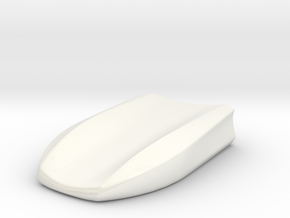 Car style pen tray in Gloss White Porcelain
