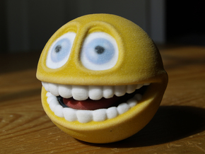 Emoji Smiley Face - Smile  in Full Color Sandstone