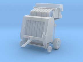 N Farming Round Baler - OPEN in Frosted Ultra Detail