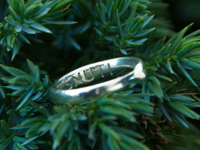 Infinite Love Ring in Polished Silver