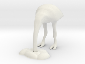 Ostrich 2 in White Strong & Flexible