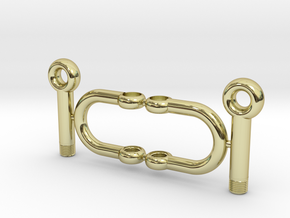 Jewelry-Shackles-M5 in 18k Gold Plated