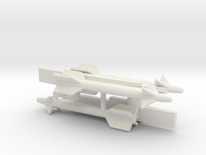 Sidewinder Missiles for Aerial Chivalry in White Strong & Flexible