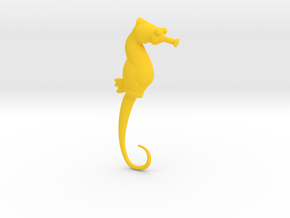 Seahorse 2mm/ 12 gauge in Yellow Strong & Flexible Polished