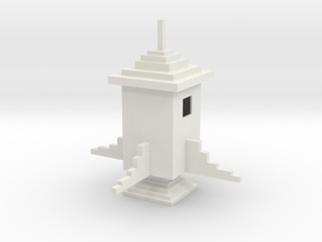 Minecraft Rocket in White Strong & Flexible