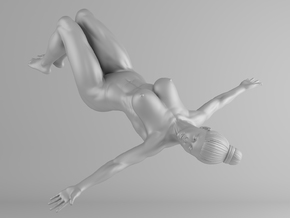 Fitness Girl 013 Scale 1/10 in White Strong & Flexible