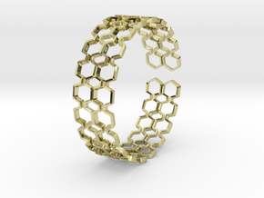 Honeyfull Second Bracelet 65mm in 18k Gold Plated