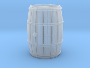 Wooden Barrel Wine Rundlet in Frosted Ultra Detail