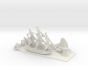 Pirate Bay in White Strong & Flexible
