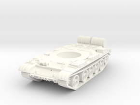 1/56 Scale T-55-3 in White Strong & Flexible Polished