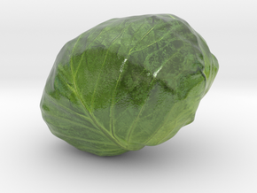 The Cabbage-2-mini in Coated Full Color Sandstone