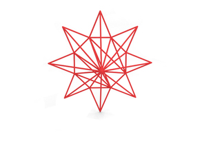 Star in Red Strong & Flexible Polished