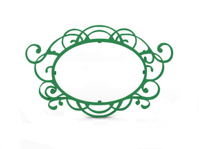 Photo Frame in Green Strong & Flexible Polished