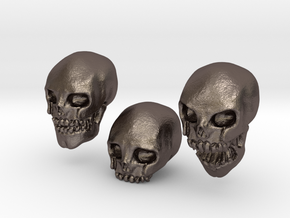 Skulls in Stainless Steel