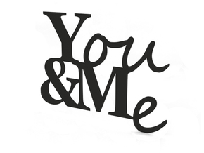 You and Me in Black Strong & Flexible