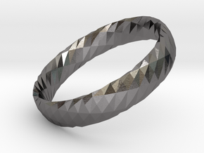 Twistium - Bracelet P=160mm h15 in Polished Nickel Steel