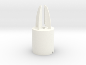 Apple Pencil Rocket Dock in White Strong & Flexible Polished