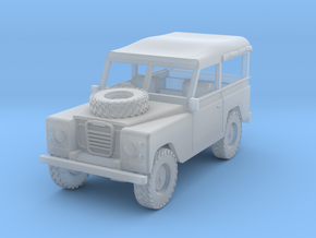1/72 1:72 Scale Land Rover Soft Top in Frosted Ultra Detail