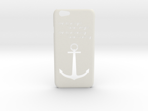 IPhone 6/6S Case Sailor in White Strong & Flexible