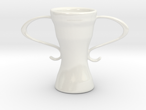 Victory in Gloss White Porcelain