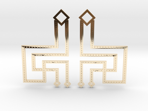 Loft Female- Earrings in 14k Gold Plated