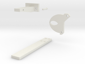 Simple Gath Latch in White Strong & Flexible