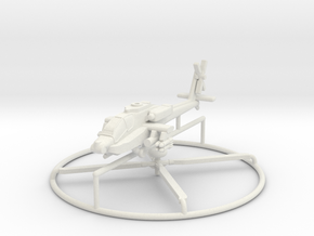 1/200 AH-64D Apache Longbow in White Strong & Flexible