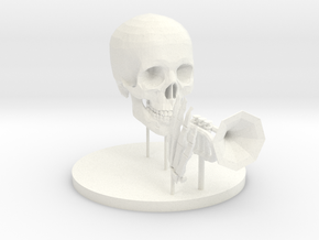 Your Very Own Mr Skeltal in White Strong & Flexible Polished