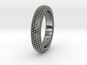 POMPEI Ring in Polished Silver