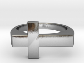 ISIDE Ring in Polished Silver