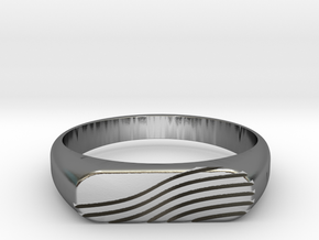 PROCIDA Ring in Polished Silver