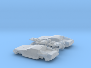 DeLorean Time Machine Train N 1:160 2 Pack in Frosted Ultra Detail