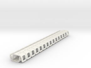 Clips HM 30x in White Strong & Flexible