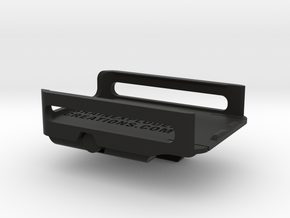 RunCam2 Top Rail Mount (Full Mount) in Black Strong & Flexible